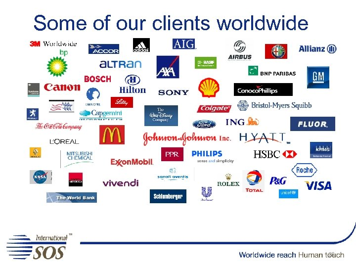 Some of our clients worldwide 23