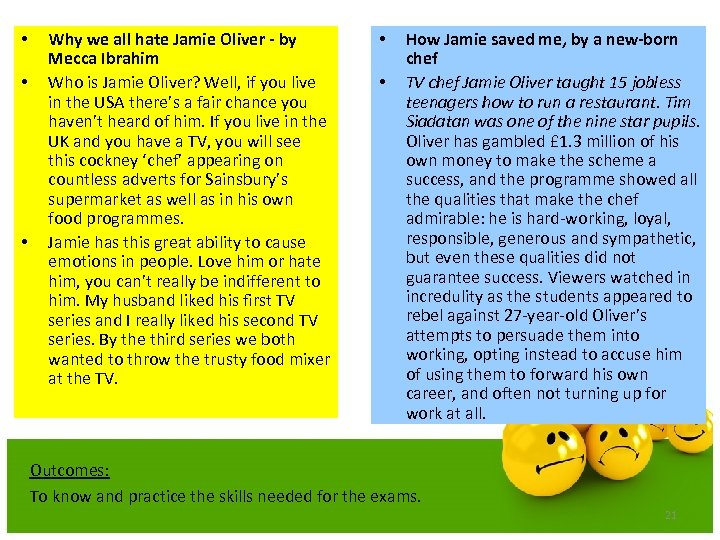 • • • Why we all hate Jamie Oliver - by Mecca Ibrahim