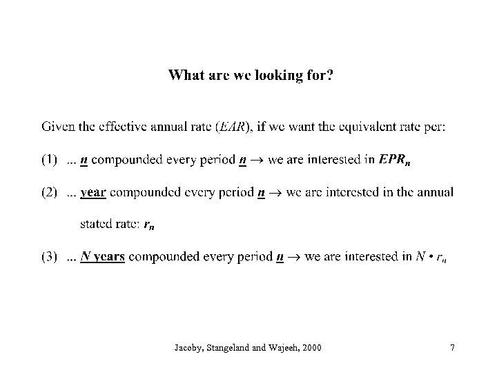 Jacoby, Stangeland Wajeeh, 2000 7