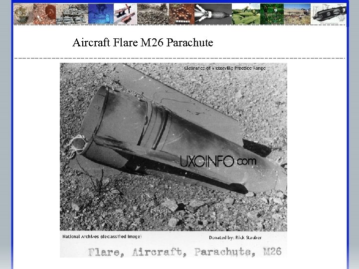 Aircraft Flare M 26 Parachute