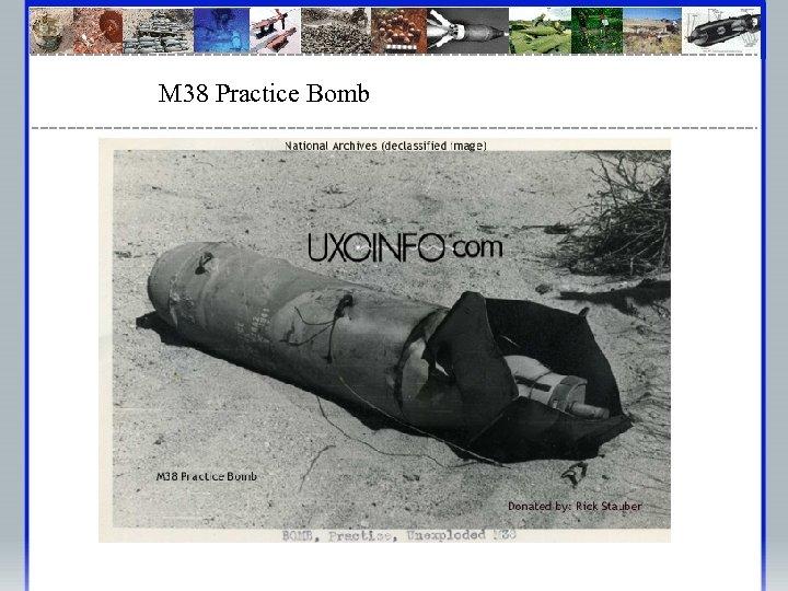 M 38 Practice Bomb