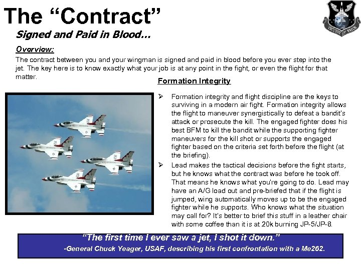 """The """"Contract"""" Signed and Paid in Blood… Overview: The contract between you and your"""