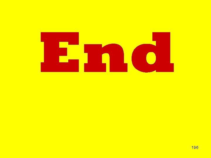 End 196