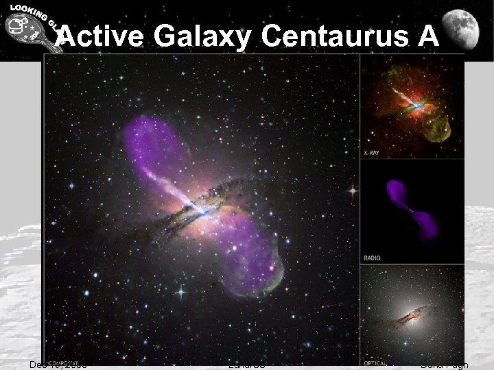 Active Galaxy Centaurus A Dec 15, 2008 Lunar. SS Dana Pugh