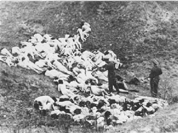 Babi Yar September 29 -30, 1941 murdered the Jewish population of Kiev at Babi