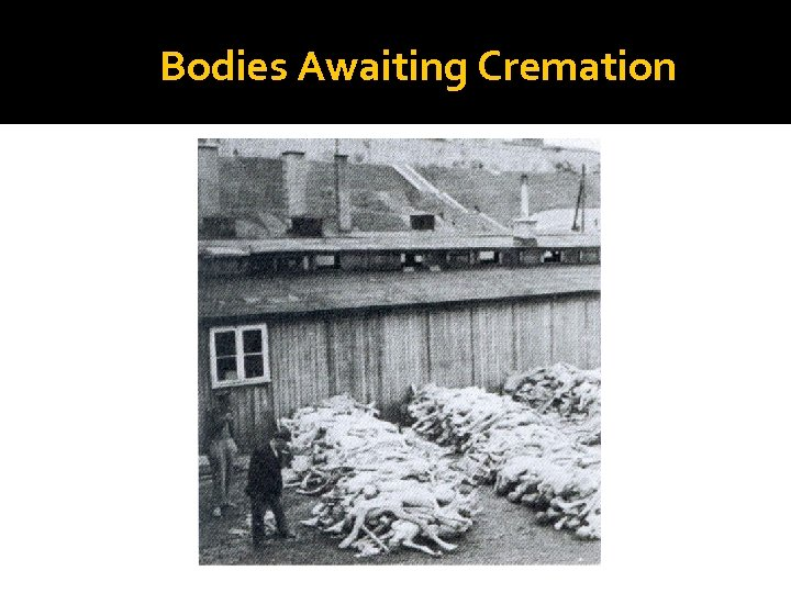 Bodies Awaiting Cremation