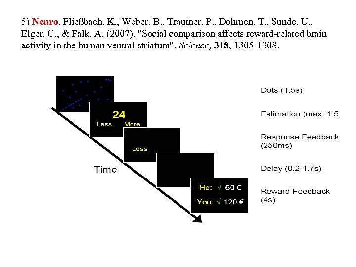 5) Neuro. Fließbach, K. , Weber, B. , Trautner, P. , Dohmen, T. ,