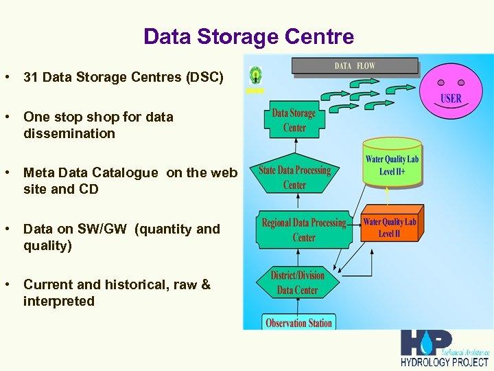 Data Storage Centre • 31 Data Storage Centres (DSC) • One stop shop for