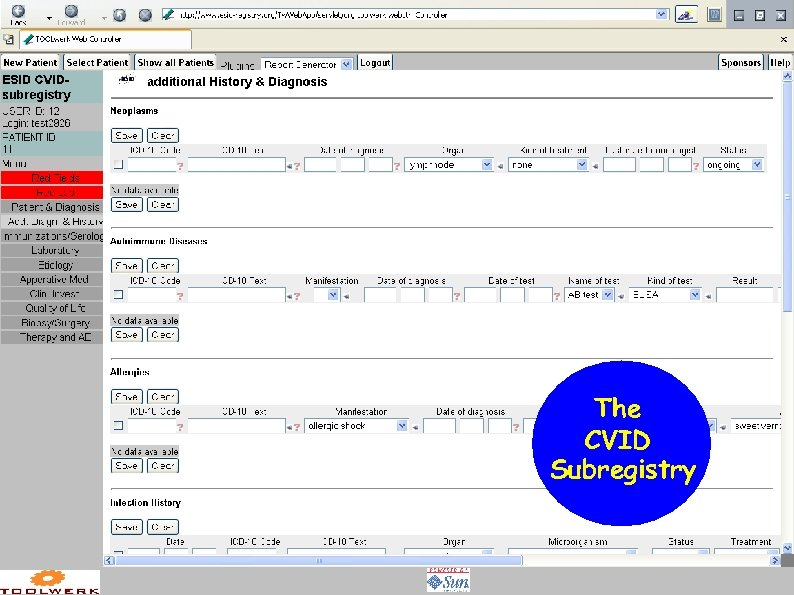 The CVID Subregistry