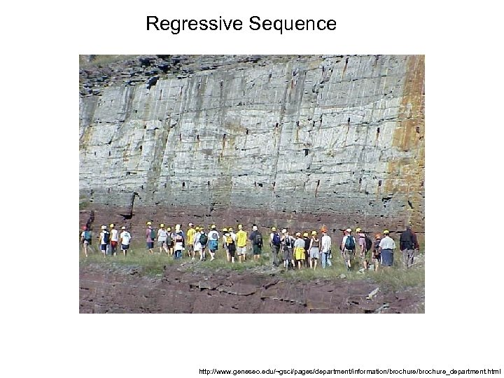 Regressive Sequence http: //www. geneseo. edu/~gsci/pages/department/information/brochure_department. html