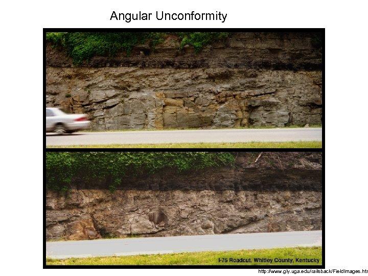 Angular Unconformity http: //www. gly. uga. edu/railsback/Field. Images. htm