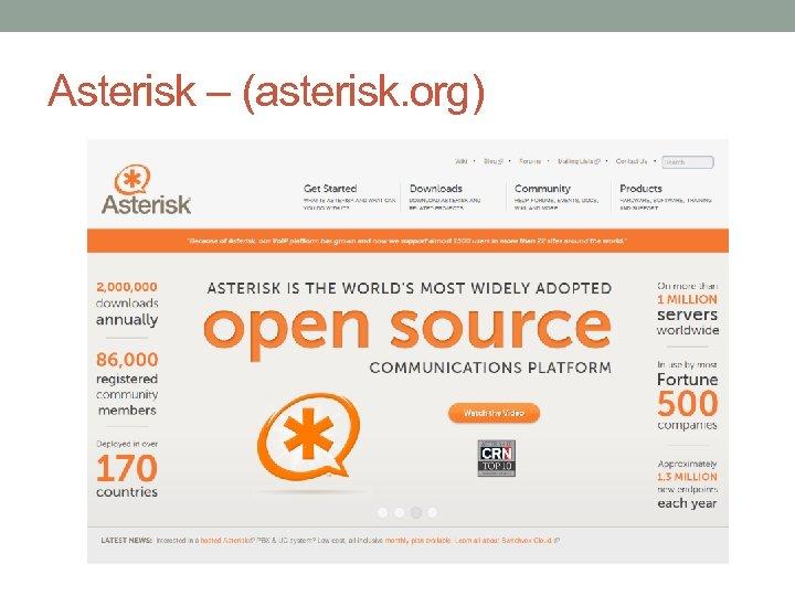 Asterisk – (asterisk. org)