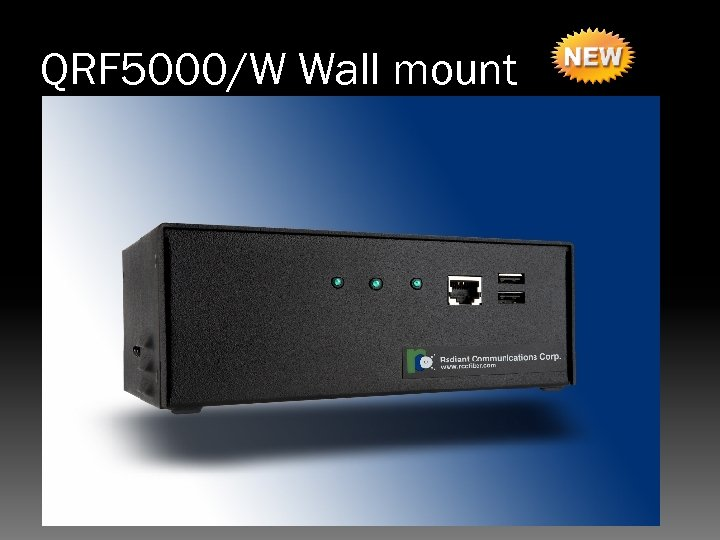 QRF 5000/W Wall mount