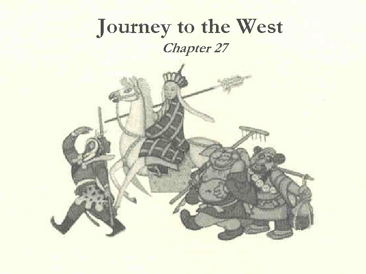 Journey to the West Chapter 27 39