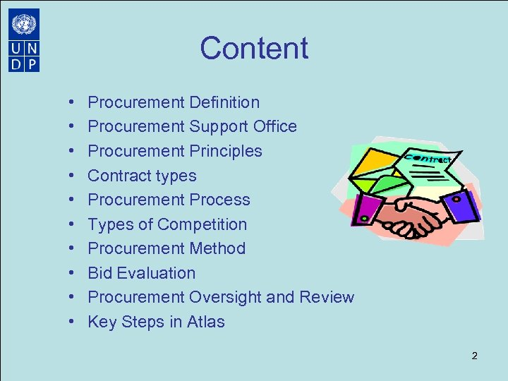 UNDP Procurement Management Operations Manager UNDP China 2