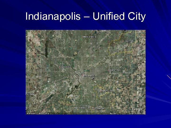 Indianapolis – Unified City