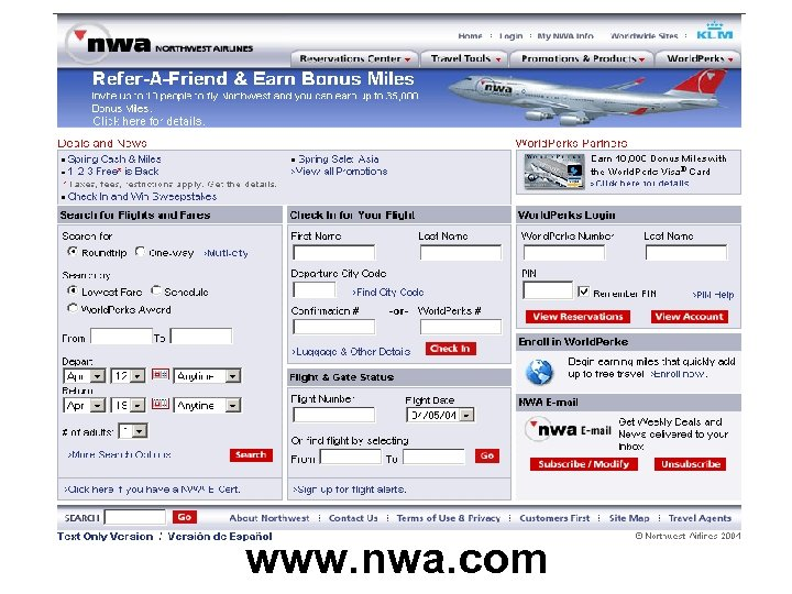www. nwa. com