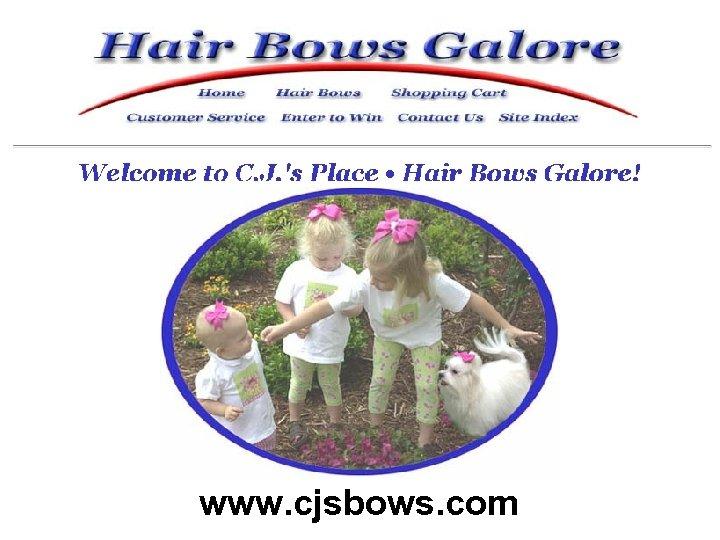 www. cjsbows. com