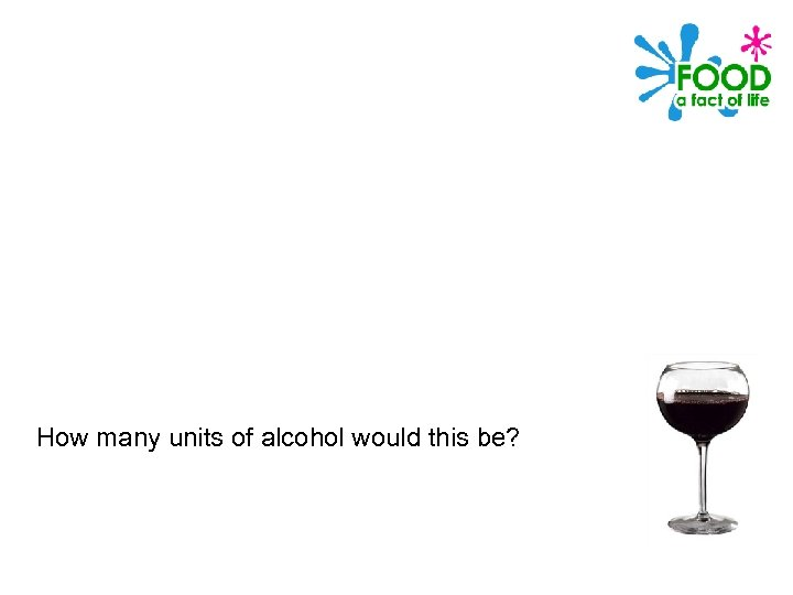 How many units of alcohol would this be?