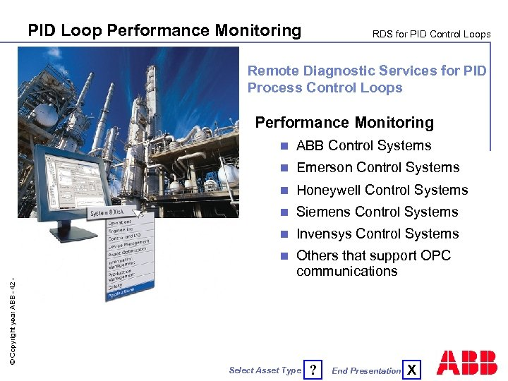 PID Loop Performance Monitoring RDS for PID Control Loops Remote Diagnostic Services for PID