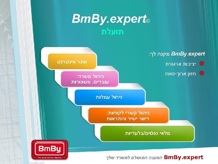 © Bm. By. expert תועלת Bm. By. expert מקנה לך: אתר אינטרנט ¥