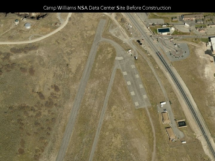 Camp Williams NSA Data Center Site Before Construction