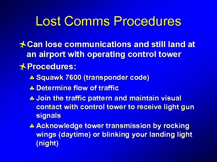 Communication and ATC Breaker Breaker One Nine we