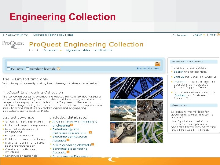 Engineering Collection