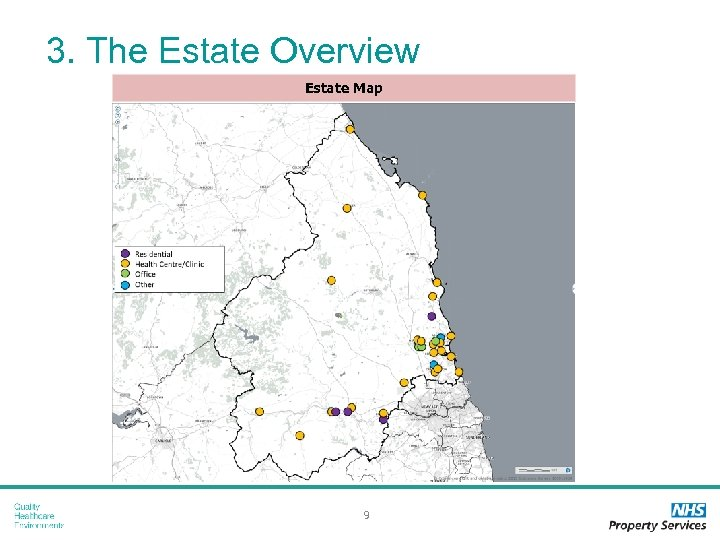 3. The Estate Overview Estate Map 9