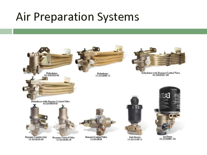 Air Preparation Systems