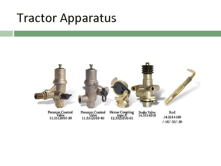 Tractor Apparatus