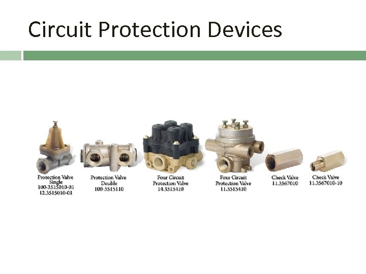 Circuit Protection Devices