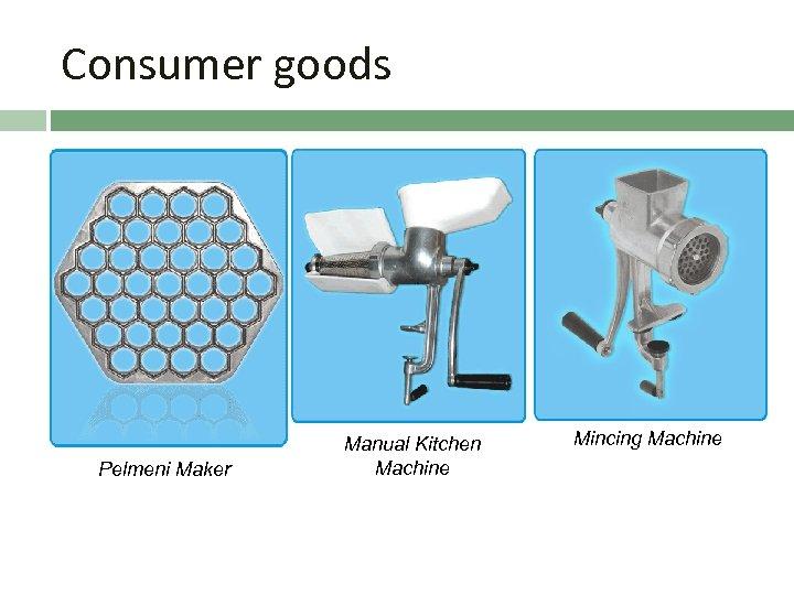 Consumer goods Pelmeni Maker Manual Kitchen Machine Mincing Machine