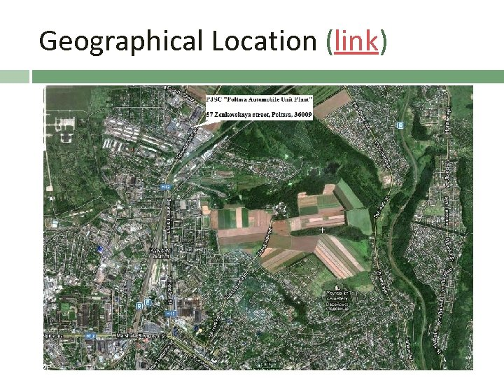 Geographical Location (link)