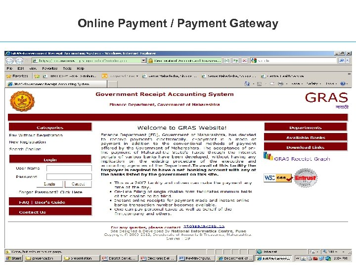 Online Payment / Payment Gateway