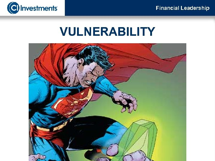 Financial Leadership VULNERABILITY