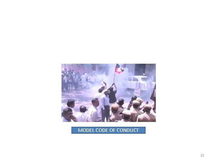 MODEL CODE OF CONDUCT 15