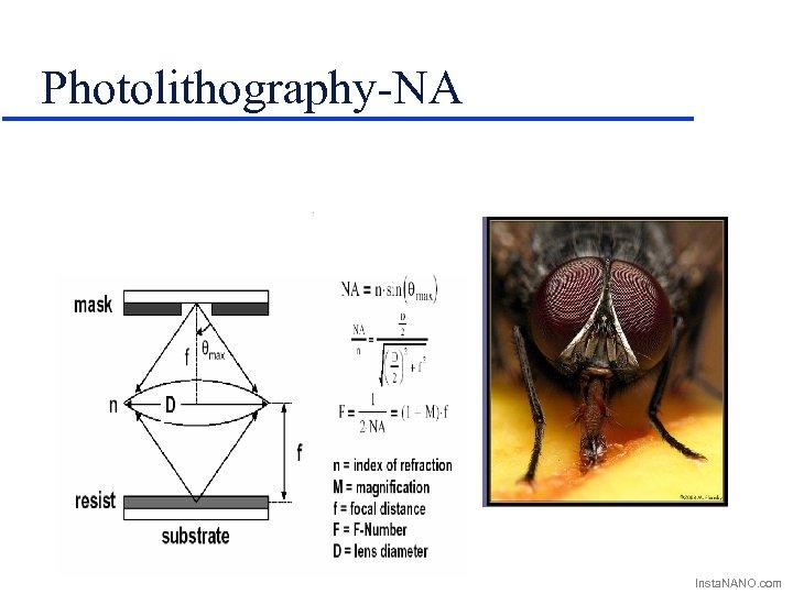 Photolithography-NA Insta. NANO. com