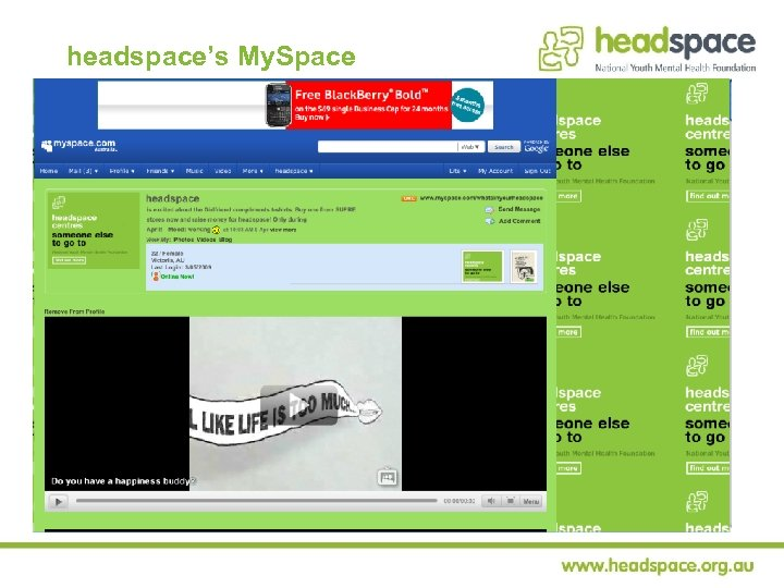 headspace's My. Space