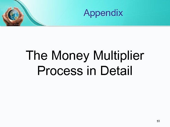 Appendix The Money Multiplier Process in Detail 53