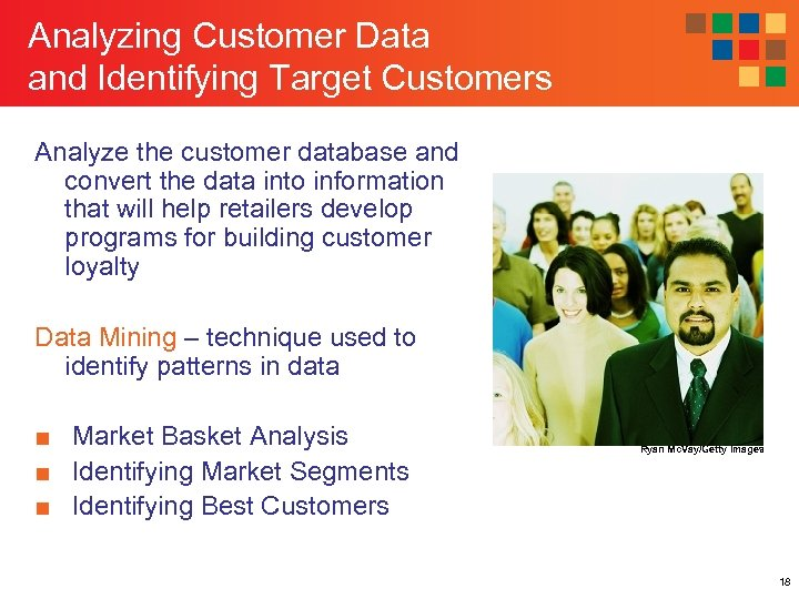 Analyzing Customer Data and Identifying Target Customers Analyze the customer database and convert the
