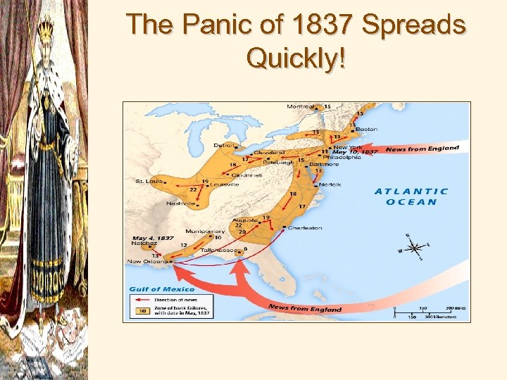 The Panic of 1837 Spreads Quickly!