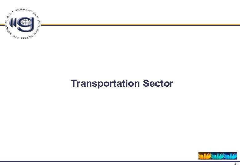 Transportation Sector 31