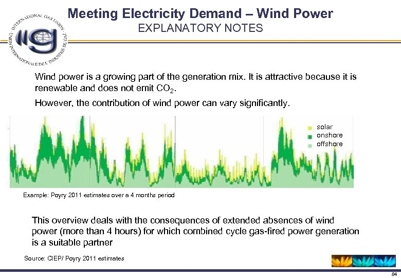 Meeting Electricity Demand – Wind Power EXPLANATORY NOTES Wind power is a growing part