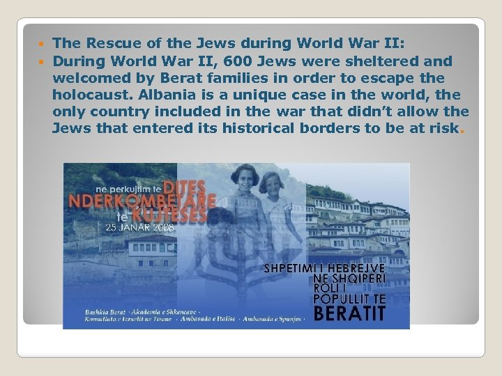 The Rescue of the Jews during World War II: During World War II, 600