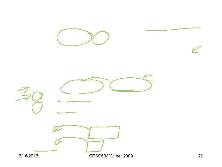 3/16/2018 CPSC 503 Winter 2009 29