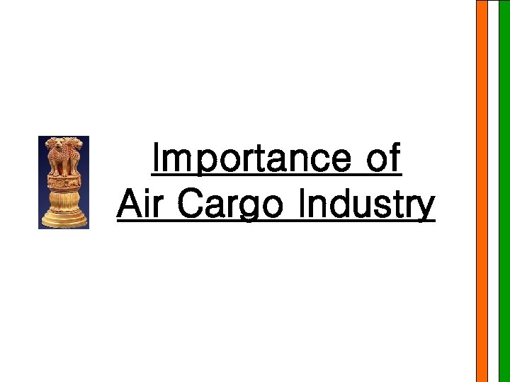 Importance of Air Cargo Industry