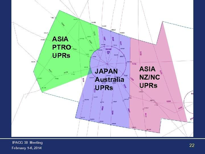 ASIA PTRO UPRs JAPAN Australia UPRs IPACG 38 Meeting February 5 -6, 2014 ASIA