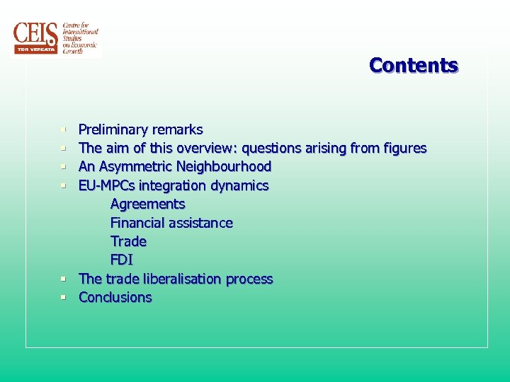 Contents Preliminary remarks The aim of this overview: questions arising from figures An Asymmetric