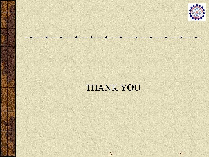 THANK YOU AI 41